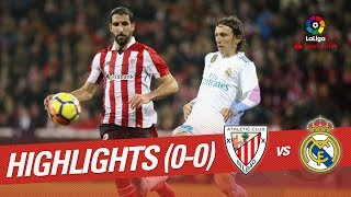 Resumen de Athletic Club vs Real Madrid (0-0)