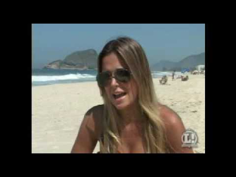 Robertha Portella musa do flamengo Beautiful Brazilian girls Part 5 HQ