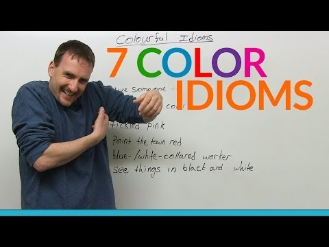 watch 7 colorful English idioms