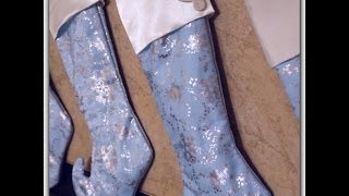 DIY: Sew a Christmas Stocking w/ Lining & Cuff, No Raw Seams