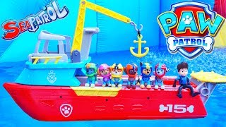 SEA PATROLLER PAW PATROL PUPS SAVE A BABY OCTOPUS CHASE MARSHALL SKYE RUBBLE ROCKY RYDER