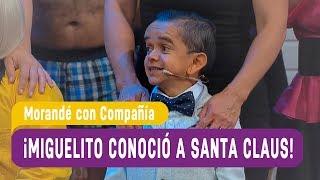 ¡Miguelito conoció a Santa Claus! - Morandé con Compañía 2017
