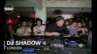 DJ Shadow Boiler Room London DJ set