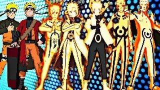 Naruto Uzumaki - All Evolutions