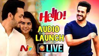 HELLO! Audio Launch || Akhil Akkineni, Kalyani Priyadarshan, Nagarjuna || NTV