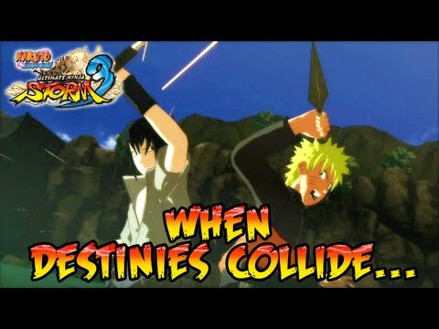 Naruto Shippuden Ultimate Ninja Storm 3 X360 PS3 When Destinies Collide