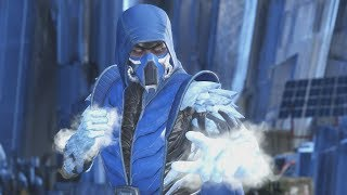 Injustice 2 SUB ZERO All Intros, Clashes, Banter, Multiverse Arcade Ending Cinematic and Super Move
