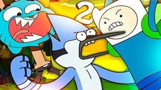 #04 JULGAMENTO Finn VS. Mordecai VS. Gumball II [Batalha de Gigantes]