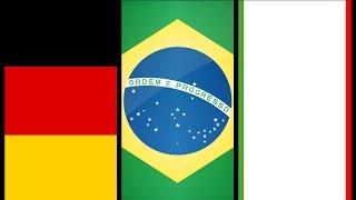 المنتخبات الفائزة بكاس العالم منذ بدايتها  |World Cup winning teams