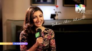 Soha Ali Khan on MTunes HD
