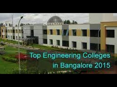 Top 10 Best Engineering Colleges in Bangalore