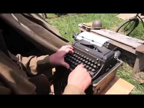 WWII living history encampment in Old Bethpage