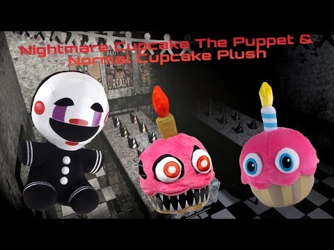 Xxx Mp4 FNaF Funko Puppet Cupcake And Nightmare Cupcake Plush GameStop Exclusive 3gp Sex