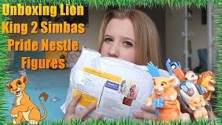 Un-boxing My Lion king 2 Simbas Pride Nestle Set