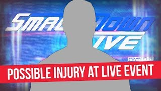 Smackdown Live Star Possibly Injured At Live Event