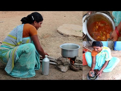 How To Make Rohu Fish Curry | Village Style Cooking of Fish Curry Recipes