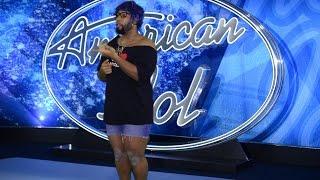 Starrkeisha's American Idol Audition! @TheKingOfWeird