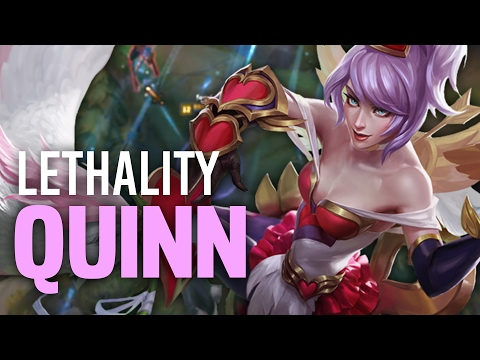 Imaqtpie LETHALITY QUINN IS ACTUALLY GOOD ft. IWDominate