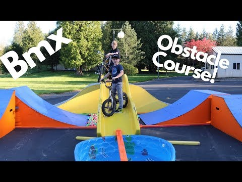 Bmx Obstacle Course