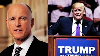 In Opposition To Trump Admin, CA Gov. Jerry Brown Takes Firm Stance on Confronting Climate Change