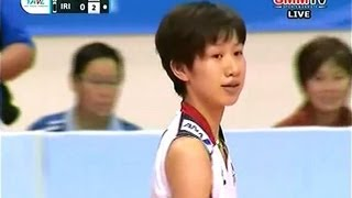 JAPAN - IRAN 2013 Asian Volleyball Championship