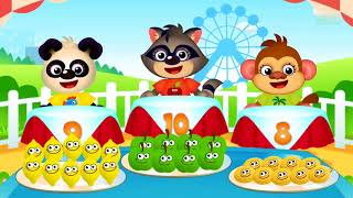 Funny Food Baby Games - Play With Fruits Vegetables - Educational Children Game