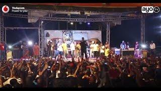 Show ya Roma Mkatoliki vs Darassa mkesha wa mwaka mpya 2017