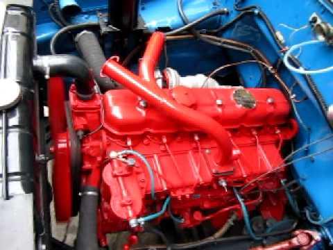 Ził 130G Silnik Leyland Turbo SW 400