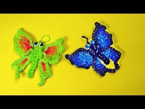 Как сделать из резинок брелок без станка бабочка - BM-motors.ru