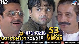 Best Comedy Scenes | Paresh Rawal, Rajpal, Shakti Kapoor | Bollywood Comedy Movies | Hungama Scenes