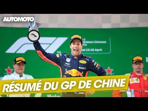 F1 Le résumé du GP de Chine