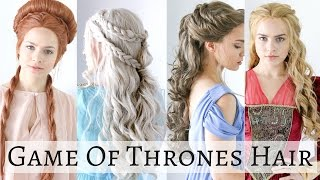 Iconic Game of Thrones Hairstyles - Hair Tutorial