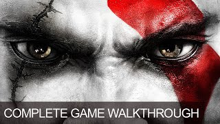 God Of War 3 Complete Game Walkthrough Full Game Story