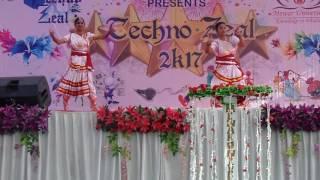 Mon Mor Megher Songi Dance by MEWAR UNIVERSITY girls.