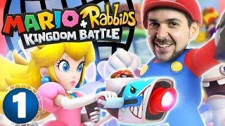 Mario X-Com #1 - Lewis and Ben Save the Mushroom Kingdom!