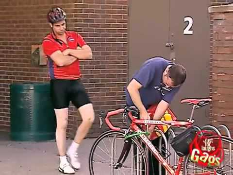 Epic Old Man - Bicycle Thief - hidden camera Gags