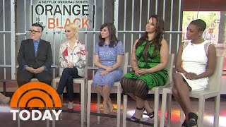 'Orange Is The New Black' Stars On Show's Topical Issues | TODAY