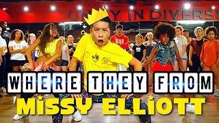 Missy Elliott - WTF - Choreography By - @thebrooklynjai