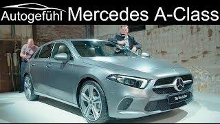Mercedes A-Class REVIEW 2018/2019 all-new W177 MBUX AClass A-Klasse neu - Autogefühl