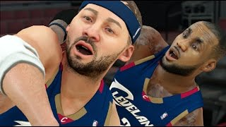 Can A Tiny 0 Overall Player Hit A Full Court Shot Before Lebron James Can? NBA 2K17 Challenge!