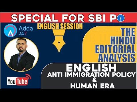 Xxx Mp4 THE HINDU EDITORIAL DISCUSSION ENGLISH ANTI IMMIGRATION POLICY HUMAN ERA 22th Feb 3gp Sex