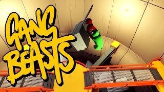 Gang Beasts - I'ma HUGE FAN [Father and Son Gameplay]
