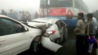 30 Vehicles Road Crashed Haryana India | Worst Accidents Videos