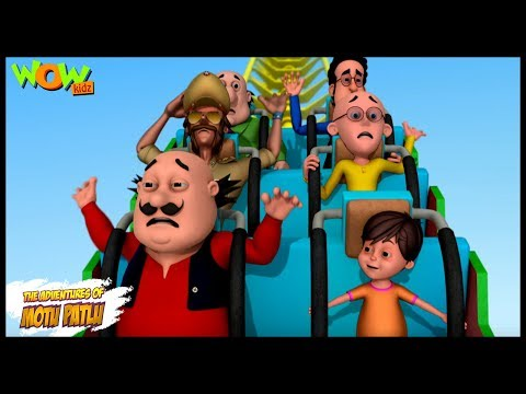 Amusement Park Mein Dhamaal - Motu Patlu in Hindi