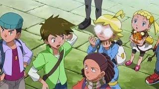 Pokémon XY Capitulo 9 ¡Clemont tiene un secreto! Temporada 17