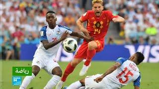 بلجيكا تفوز على الوافدة الجديدة لكأس العالم بنما 3-صفر