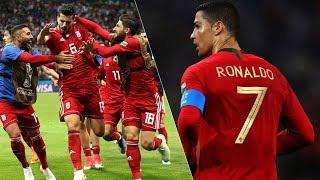 کریستیانو رونالدو مقابل ایران