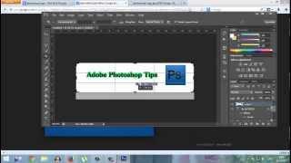 สอนใส่ขอบล้อมรอบตัวอักษร ผ่าน Adobe Photoshop CS6[HD] by NUTDECH