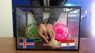 Prediksi Islandia vs Croatia bersama PO  si hamster