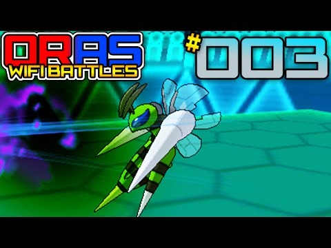 Pokemon Omega Ruby and Alpha Sapphire [ORAS] WiFi Battle - Vs ReaperSage #003 [UU] - MEGA BEEDRILLIN